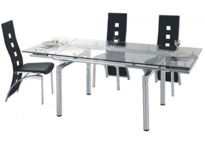 628 Стол обеденный раскладной 850(+400)*850, Кухни, Обеденные столы, Стоимость 29601 рублей.