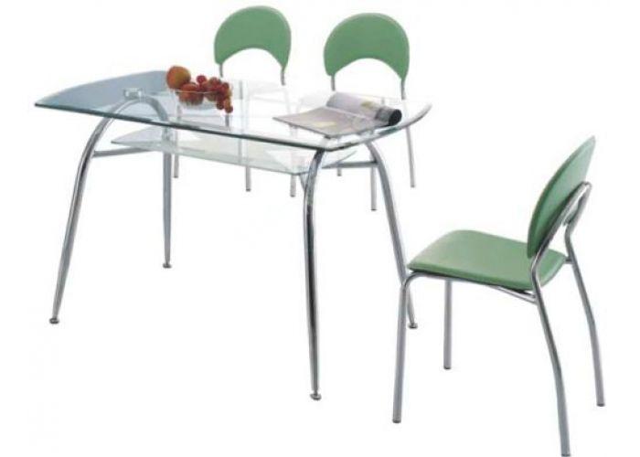 951 хром/стекло 850*850*750 Стол обеденный , Кухни, Обеденные столы, Стоимость 10885 рублей.