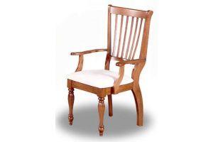 Кресло деревянное с подлокотниками D-1201G