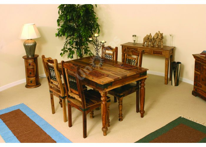 SAP-0390-135 Стол обеденный средний Бомбей