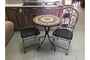 Secret de Maison Комплект: стол ROMEO + 2 стула MADLEN