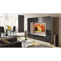 Денди, ТД-230.01 Каркас изделия + ТД-230.01-11 Фасад изделия + ТД-230.01-01 Подставка под ТВ