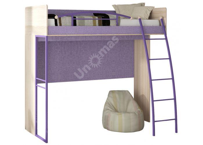 Индиго, ПМ-145.01 Кровать-чердак, Детская мебель, Двухъярусные кровати, Стоимость 20652 рублей.