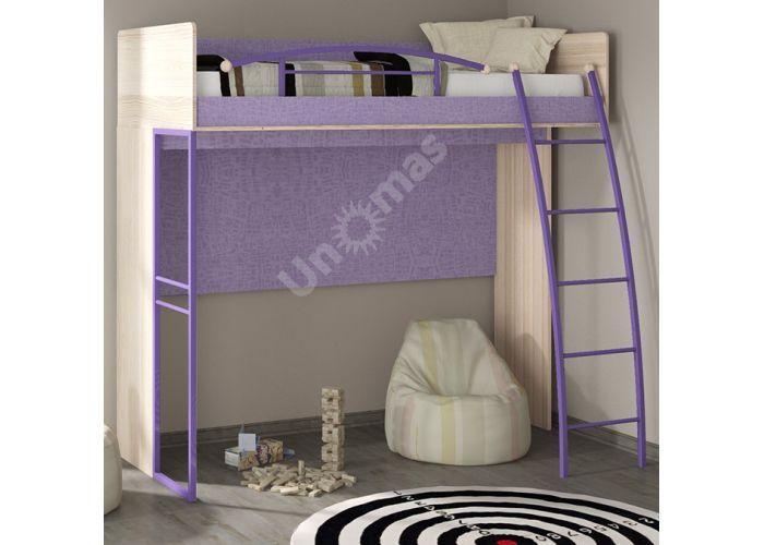Индиго, ПМ-145.01 Кровать-чердак, Детская мебель, Двухъярусные кровати, Стоимость 20652 рублей., фото 2