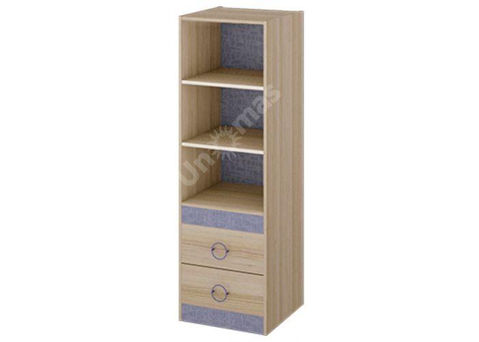 Индиго, ПМ-145.08 Шкаф комбинированный, Детская мебель, Модульные детские комнаты, Стоимость 5939 рублей.