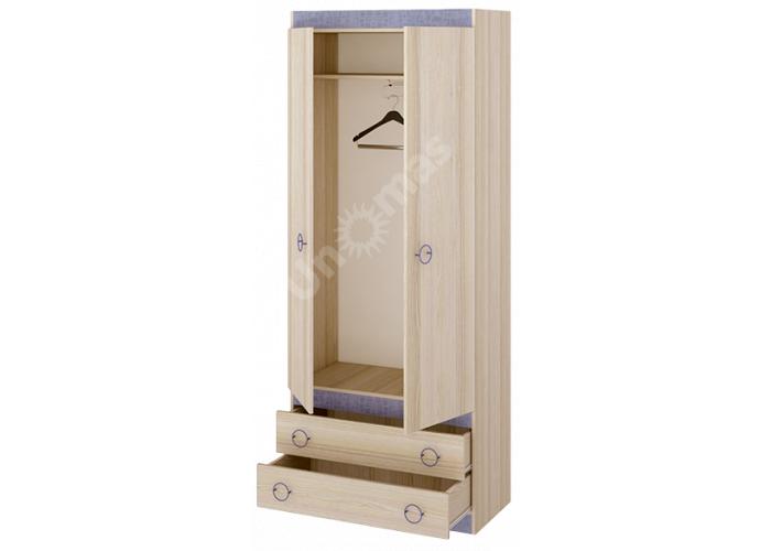 Индиго, ПМ-145.10 Шкаф для одежды, Спальни, Шкафы, Стоимость 12875 рублей., фото 2