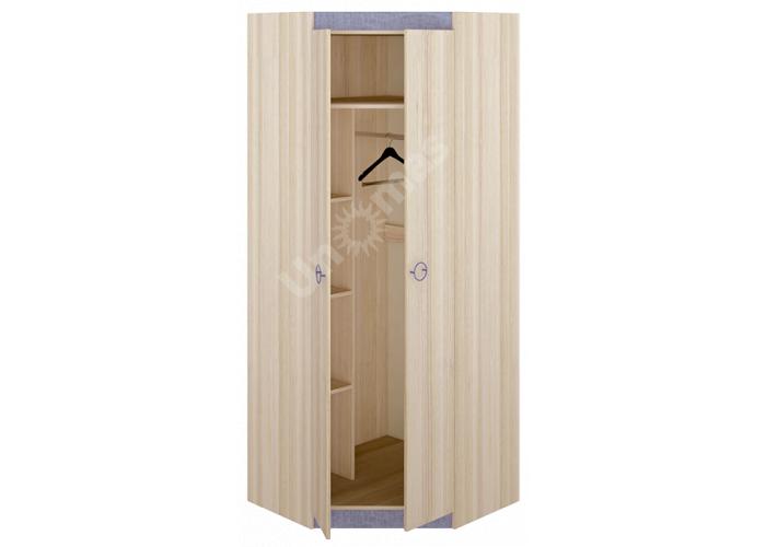 Индиго, ПМ-145.12 Шкаф угловой, Спальни, Угловые шкафы, Стоимость 15127 рублей., фото 2