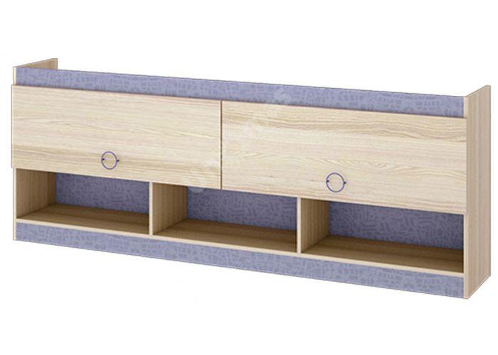 Индиго, ПМ-145.14 Шкаф настенный, Офисная мебель, Полки, Стоимость 9876 рублей.