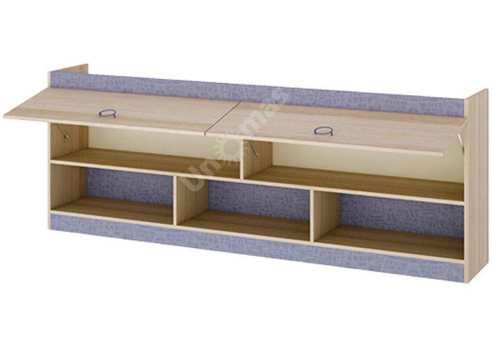 Индиго, ПМ-145.14 Шкаф настенный, Офисная мебель, Полки, Стоимость 9876 рублей., фото 2