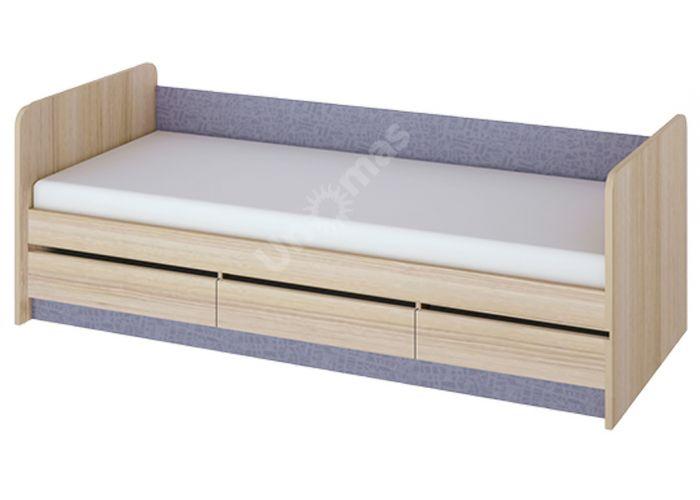 Индиго, ПМ-145.15 Кровать с ящиками, Детская мебель, Детские кровати, Стоимость 10929 рублей.