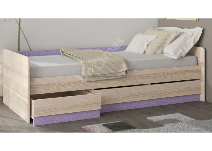 Индиго, ПМ-145.15 Кровать с ящиками, Детская мебель, Детские кровати, Стоимость 10929 рублей., фото 3