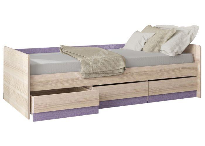 Индиго, ПМ-145.15 Кровать с ящиками, Детская мебель, Детские кровати, Стоимость 10929 рублей., фото 2