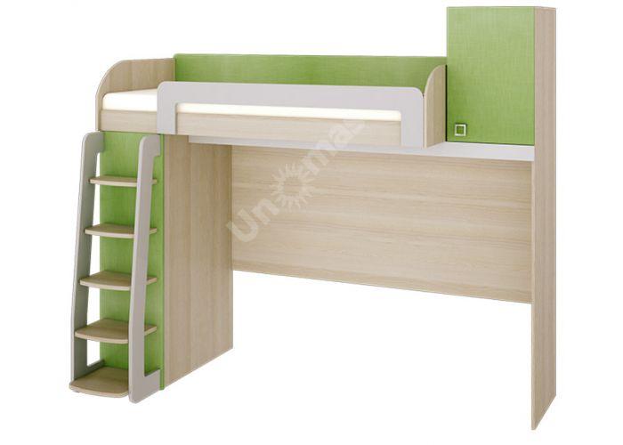 Киви, 139.01 Кровать-чердак, Детская мебель, Двухъярусные кровати, Стоимость 30670 рублей.