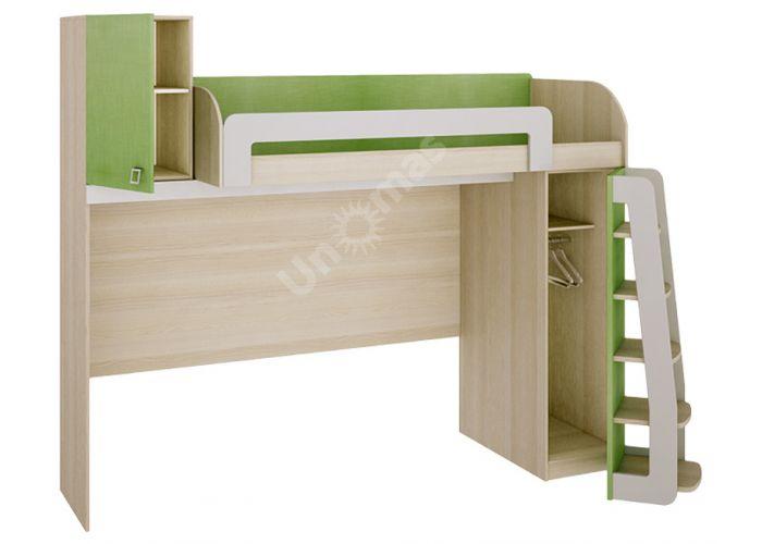 Киви, 139.01 Кровать-чердак, Детская мебель, Двухъярусные кровати, Стоимость 30670 рублей., фото 2