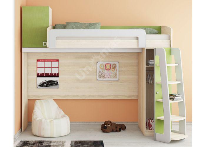 Киви, 139.01 Кровать-чердак, Детская мебель, Двухъярусные кровати, Стоимость 30670 рублей., фото 3