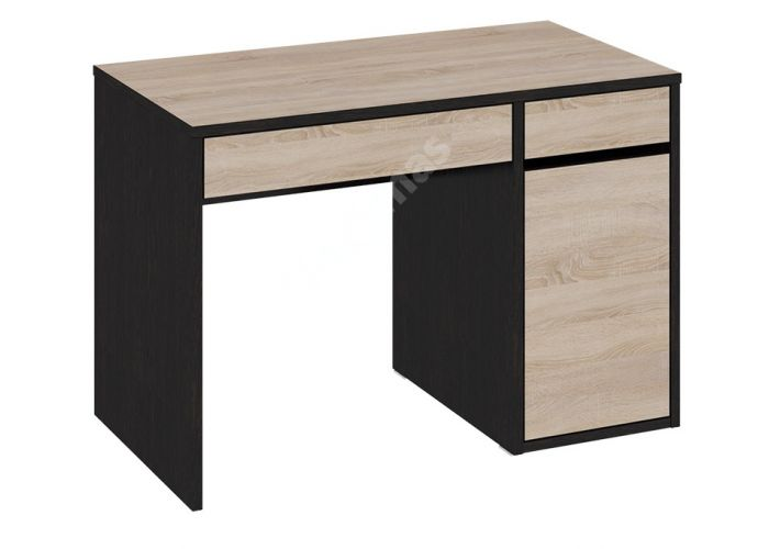 Мики Венге цаво / Дуб Сонома, Стол компьютерный Тип 2 ПМ-155.12, Офисная мебель, Компьютерные и письменные столы, Стоимость 6419 рублей.