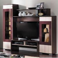 Поло ПМ-142.00 Комплект 1.Набор мебели для общей комнаты  Груша монтегро / Ясень Коимбра