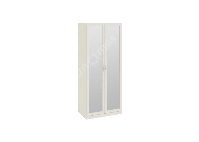 Лючия, ТД-235.07.02 Каркас шкафа для одежды + ТД-235.07.12 Дверь с зеркалом (2 шт.)