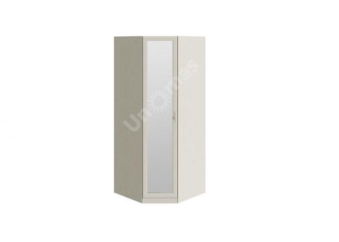 Лючия, ТД-235.07.23 Каркас шкафа углового + ТД-235.07.12 Дверь с зеркалом , Спальни, Угловые шкафы, Стоимость 18295 рублей.