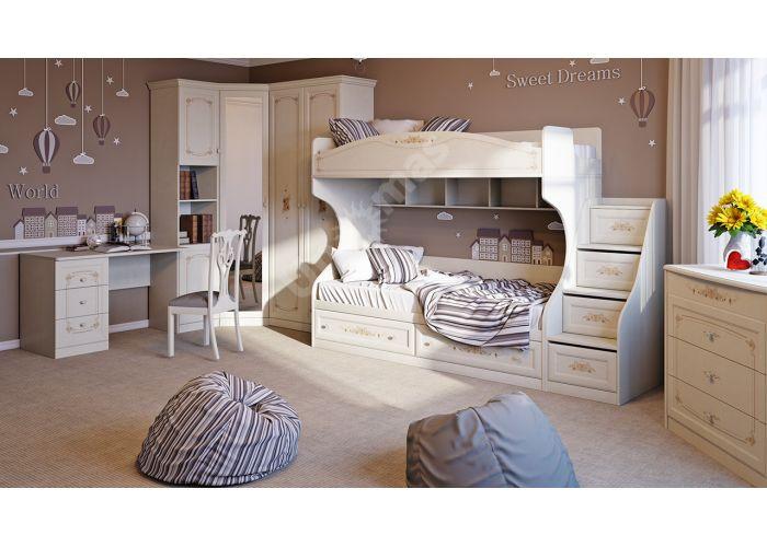 Лючия, ТД-235.12.01 Кровать с 2 ящиками  , Детская мебель, Детские кровати, Стоимость 16371 рублей., фото 2