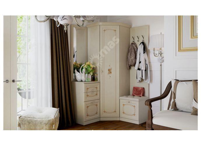 Лючия, ТД-235.07.23 Каркас шкафа углового + ТД-235.07.12 Дверь с зеркалом , Спальни, Угловые шкафы, Стоимость 18295 рублей., фото 5