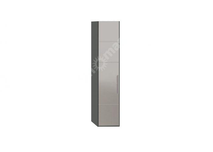 Наоми, ТД-208.07.01 Каркас шкафа для белья + ТД-208.07.12L Дверь с зеркалом