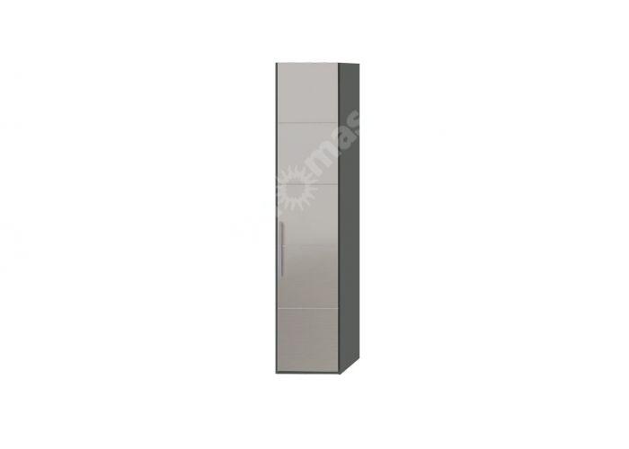 Наоми, ТД-208.07.01 Каркас шкафа для белья + ТД-208.07.12R Дверь с зеркалом , Спальни, Шкафы, Стоимость 17982 рублей.