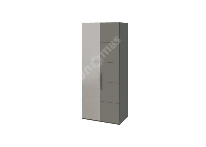Наоми, ТД-208.07.02 Каркас шкафа для одежды + ТД-208.07.12L Дверь с зеркалом + ТД-208.07.11 Дверь
