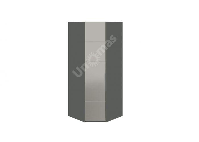 Наоми, ТД-208.07.03 Каркас шкафа углового + ТД-208.07.12L Дверь с зеркалом