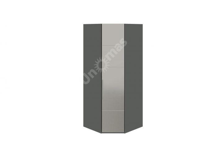 Наоми, ТД-208.07.03 Каркас шкафа углового + ТД-208.07.12R Дверь  с зеркалом, Спальни, Угловые шкафы, Стоимость 28370 рублей.