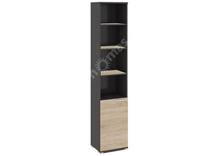 Успех-2, ПМ-184.15 Шкаф для документов с нишей и 1-й дверью, Офисная мебель, Офисные пеналы, Стоимость 6690 рублей.
