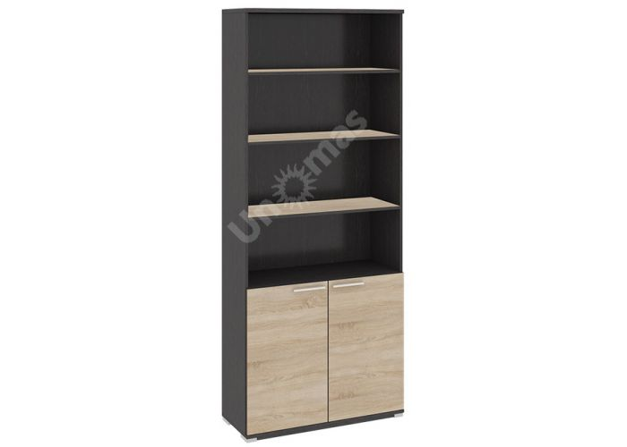 Успех-2, ПМ-184.16 Шкаф для документов с нишей и 2-мя дверями, Офисная мебель, Офисные пеналы, Стоимость 9454 рублей.