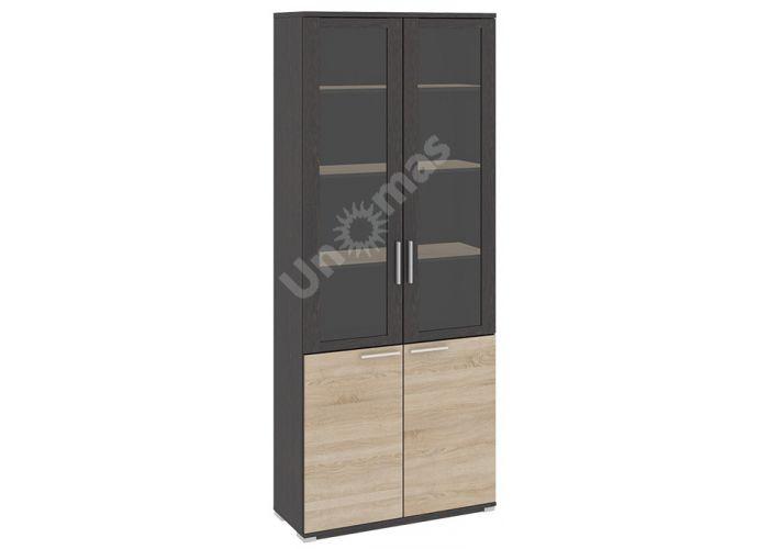 Успех-2, ПМ-184.17 Шкаф для документов с 2-мя дверями со стеклом, Офисная мебель, Офисные пеналы, Стоимость 17120 рублей.