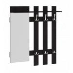 Арт Венге Цаво, Вешалка с крючками и зеркалом