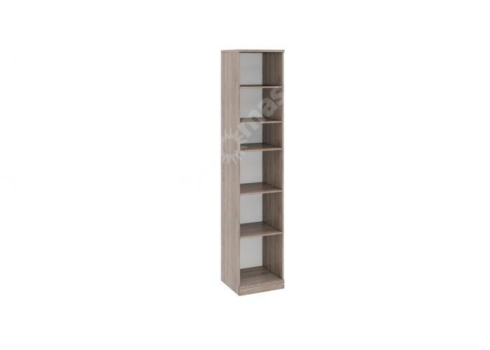 Прованс, ТД-223.07.21 Каркас шкафа для белья (440) + ТД-223.07.12L Дверь левая с зеркалом