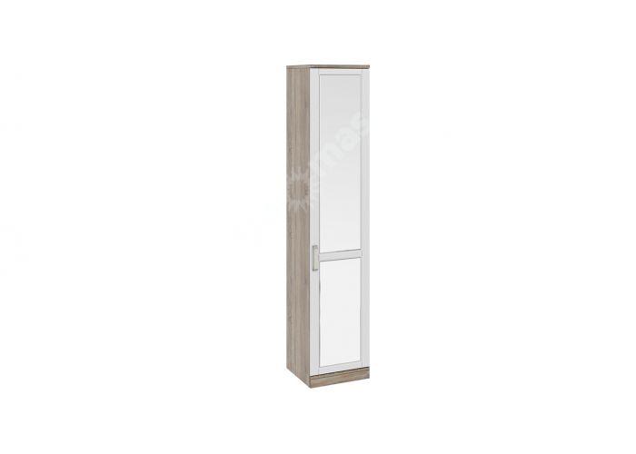 Прованс,  ТД-223.07.01 Каркас шкафа для белья (580) + ТД-223.07.12R Дверь правая с зеркалом