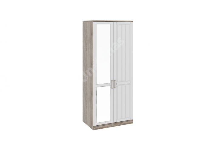 Прованс, ТД-223.07.02 Каркас шкафа для одежды (580) + ТД-223.07.11R Дверь правая + ТД-223.07.12L Дверь левая с зеркалом, Спальни, Шкафы, Стоимость 22638 рублей.