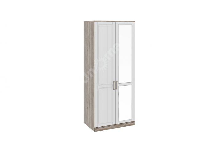 Прованс, ТД-223.07.02 Каркас шкафа для одежды (580) + ТД-223.07.11L Дверь левая + ТД-223.07.12R Дверь правая с зеркалом, Спальни, Шкафы, Стоимость 22638 рублей.