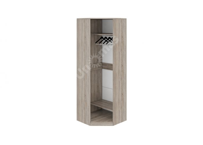 Прованс, ТД-223.07.03 Каркас шкафа углового + ТД-223.07.12L Дверь левая с зеркалом, Спальни, Угловые шкафы, Стоимость 23507 рублей., фото 5