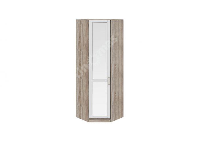 Прованс, ТД-223.07.23 Каркас шкафа углового + ТД-223.07.12L Дверь левая с зеркалом
