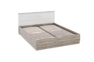 Прованс, ТД-223.01.02 Каркас кровати с подъемным механизмом (1600) + ТД-223.01.11 Спинка кровати (1600)