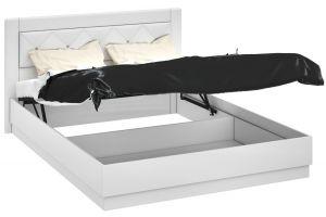 Амели, ТД-193.01.02 Каркас кровати с подъемным механизмом (1600)+ТД-193.01.12 Спинка кровати с мягким элементом