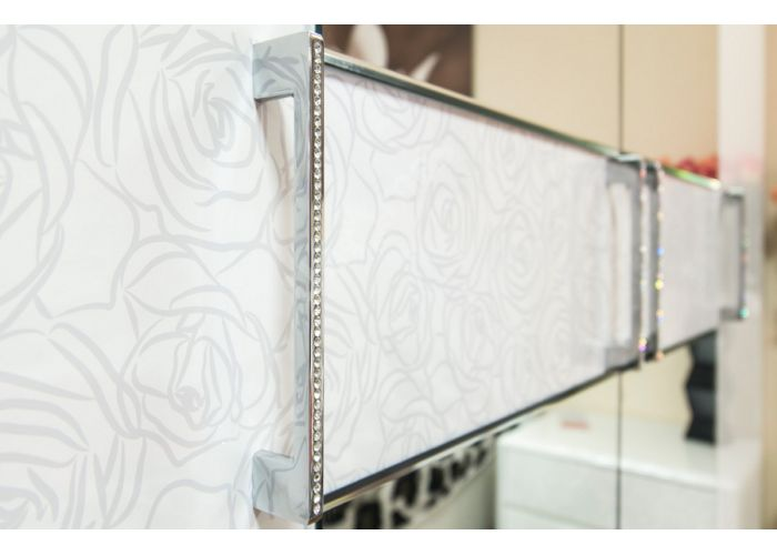 Амели, 193.07.03 Каркас шкафа углового+ТД-193.07.12 L Дверь левая с зеркалом, Спальни, Угловые шкафы, Стоимость 27043 рублей., фото 3