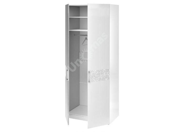 Амели, 193.07.02 Каркас шкафа для одежды+ТД-193.07.11 Дверь+ТД-193.07.12 Дверь с зеркалом, Спальни, Шкафы, Стоимость 30741 рублей., фото 2