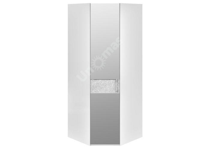 Амели, 193.07.03 Каркас шкафа углового+ТД-193.07.12 L Дверь левая с зеркалом, Спальни, Угловые шкафы, Стоимость 27043 рублей.