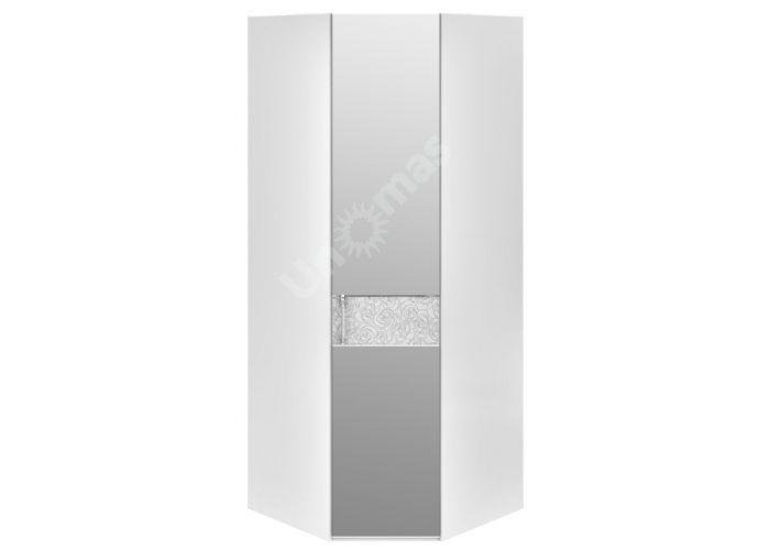 Амели, 193.07.03 Каркас шкафа углового+ТД-193.07.12 R Дверь правая с зеркалом, Спальни, Угловые шкафы, Стоимость 27043 рублей.