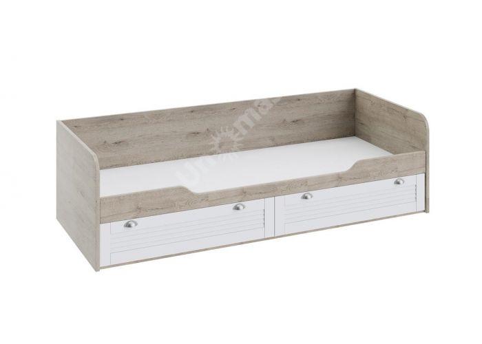Ривьера, Кровать с 2 ящиками ТД 241.12.01, Спальни, Кровати, Стоимость 13721 рублей.
