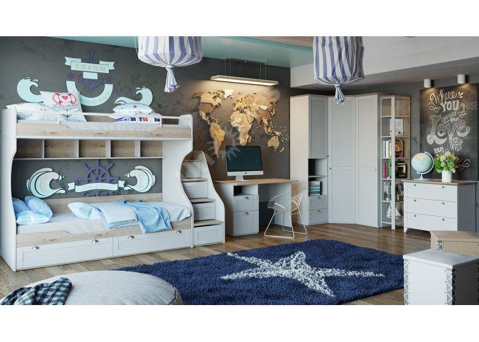 Ривьера, Кровать с 2 ящиками ТД 241.12.01, Спальни, Кровати, Стоимость 13721 рублей., фото 9