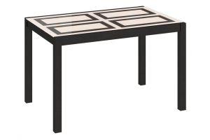 Диез Т5 Стол со стеклом обеденный раздвижной С-346 Венге / Стекло с рисунком