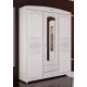 Каролина (патина), Шкаф 3-х дверный комбинированный с зеркалом